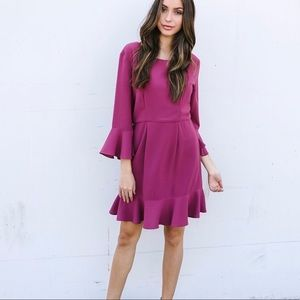 NWOT VICI Gallery Pink Dress